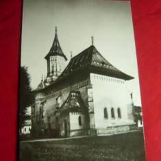 Ilustrata Suceava - Biserica Sf.Gheorghe anii '60