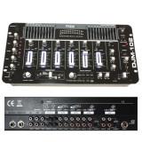 Cumpara ieftin Mixer DJ Ibiza, 19 inch, 6 canale, negru lucios