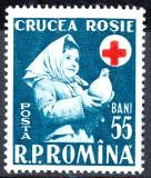 1957 LP438 serie Saptamana Crucii Rosii MNH, Organizatii internationale, Nestampilat
