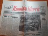 ziarul romania libera 22-23 iulie 1990