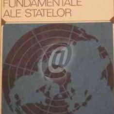 Drepturile si obligatiile fundamentale ale statelor
