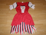 Costum carnaval serbare pirata pentru adulti marime M, Din imagine