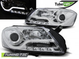 Faruri compatibile cu VW PASSAT B7 10.10-10.14 Crom TUBE LIGHT