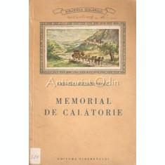 Memorial De Calatorie - Grigore Alexandrescu