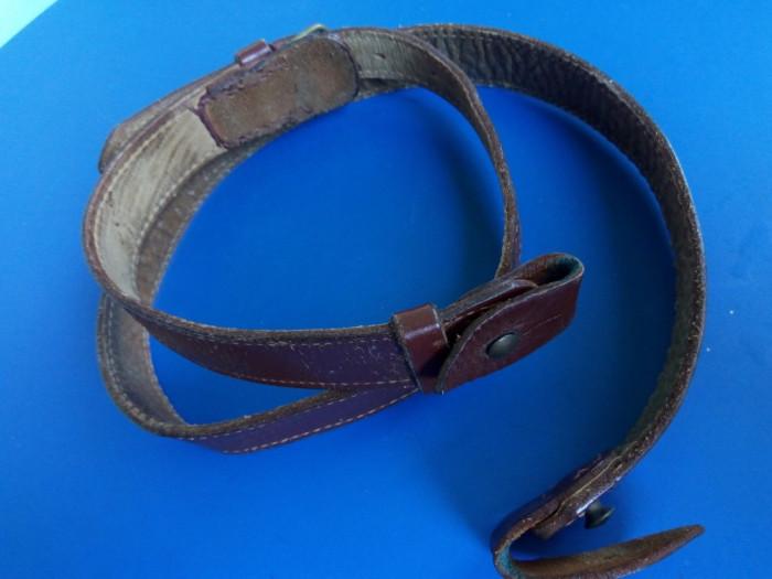 Diagonala pentru centura  RSR RPR curea piele armata miitara