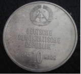 Germania ( Republica Democrata ) : 10 mark 1983_aniversare,Militia Muncitorilor, Europa, Cupru-Nichel