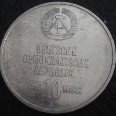 Germania ( Republica Democrata ) : 10 mark 1983_aniversare,Militia Muncitorilor
