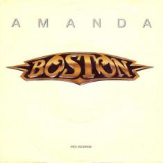 "Boston - Amanda (1988, MCA) Disc vinil single 7"""