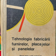 Tehnologia fabricarii furnirelor, placajelor si panelelor - Dupu , MARINESCU