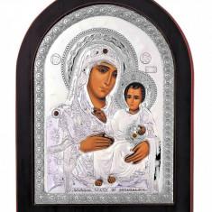 Maica Domnului de la Ierusalim Argint 925 10x14cm Cod Produs 1635