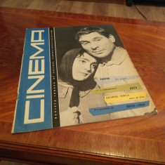 Revista Cinema nr 2 Ianuarie 1963