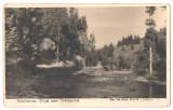 SV * Scarisoara *DRUMUL SPRE PESTERA SCARISOARA * FOTO 1942 WWII * CENZURA SIBIU, Circulata, Fotografie, Printata, Alba Iulia