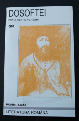 Dosoftei - Psaltirea în versuri (ed. Aureliu Goci) foto