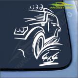 Off Road 4x4- Stickere Auto-Cod:ESV-016-Dim : 25 cm. x 20 cm.