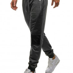 Pantaloni de trening bărbați grafit Bolf 3781