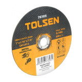 Disc abraziv de slefuit, 125 mm, pentru metal, YTGT-76303, manusi incluse
