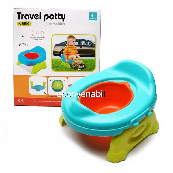 Olita Portabila cu Reductor WC Olita Calatorie Travel Potty