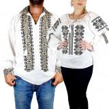 Cumpara ieftin Set Traditional Cuplu 108 Camasi traditionale cu broderie