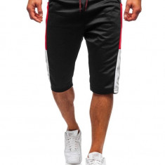 Pantaloni scurți de trening bărbați negru Bolf 81023