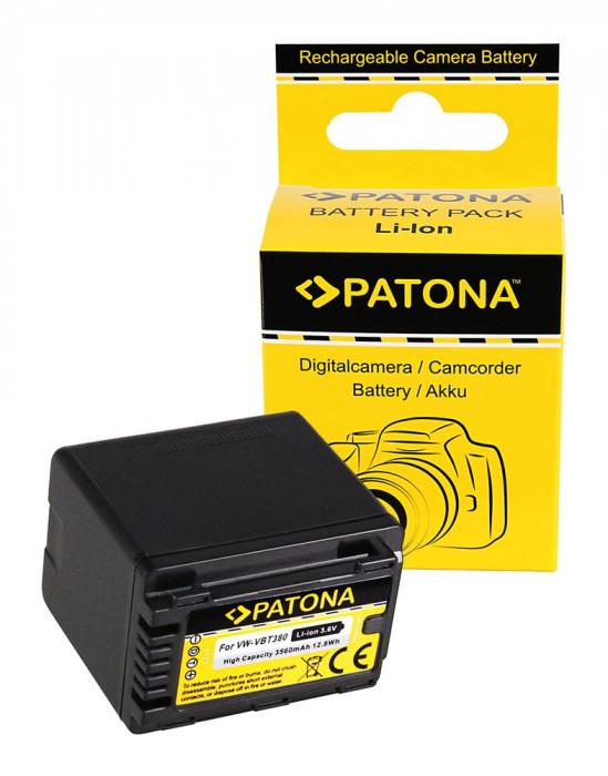PATONA | Acumulator PATONA tip Panasonic VW-VBT380 VW-VBT190 3560 mAh