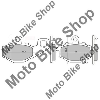 MBS Placute frana sinter Kawasaki ZXR 400 spate, Cod Produs: 225101223RM foto