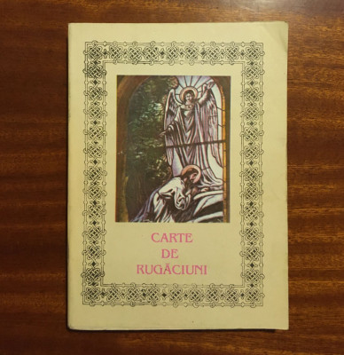 Episcopia Romanului și Hușilor - CARTE DE RUGĂCIUNI (1993) foto
