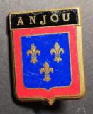 Insigna Militara Regimentala Regiment Anjou Franța