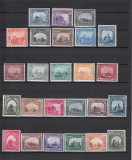 ROMANIA 1941  LP 144  MONUMENTE  ISTORICE  SERIE  MNH, Nestampilat