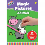 Magic Pictures - Razuim si coloram PlayLearn Toys, Galt