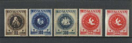 TSV$ - 1946 LP 202 CONGRESUL ARLUS MNH/** LUX
