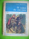 HOPCT  O SAMA DE CUVINTE /ION NECULCE -EDIT TINERETULUI 1968 -231   PAG