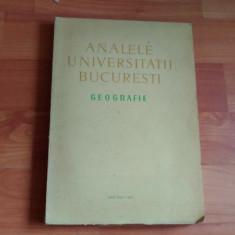 ANALELE UNIVERSITATII BUCURESTI-GEOGRAFIE-PROF. DR.MIHAI IANCU SI ALTII.