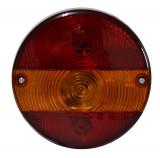 Lampa auto BestAutoVest pentru remorca rotunda 12/24V 140mm Dreapta si Stanga fara lampa numar , 1 buc. Kft Auto