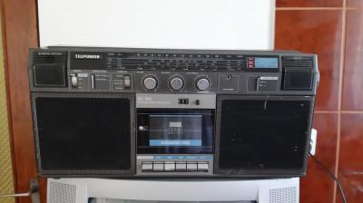 RADIO CASETOFON STEREO TELEFUNKEN RC 760 foto