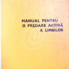 Manual pentru o predare activa a limbilor