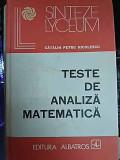 Teste De Analiza Matematica - Catalin Petru Nicolescu ,549747