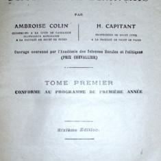 carte veche 1930 curs de drept civil