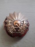 Medalia Meritul Muncii clasa a 3-a cu brevet perioada comunista