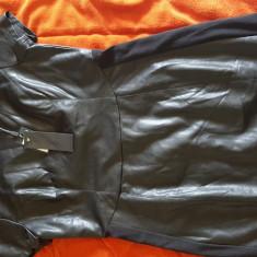 Rochie imitație din piele superbă, nouă cu etichetă M