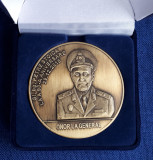 Medalie Cultul Eroilor - Regina Maria - General bg. Petre Stoica