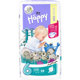 Scutece Happy Junior Extra 6, +16 kg, 54 buc