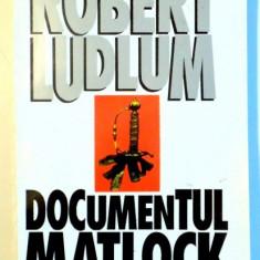 DOCUMENTUL MATLOCK de ROBERT LUDLUM , 1994