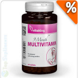 Cumpara ieftin 9 Months complex Multivitamine si Minerale sarcina si gravide 60tab. Vitaking