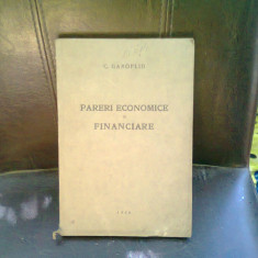 PARERI ECONOMICE SI FINANCIARE - C. GAROFLID