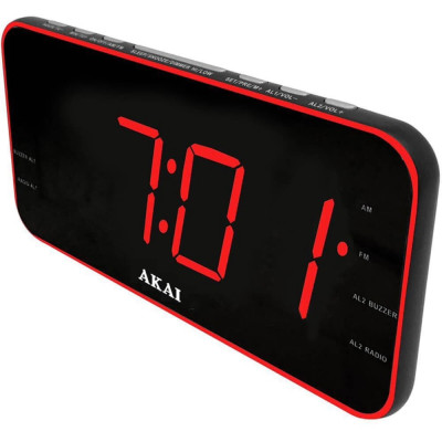 Radio cu ceas Akai ACR-3899 Negru foto