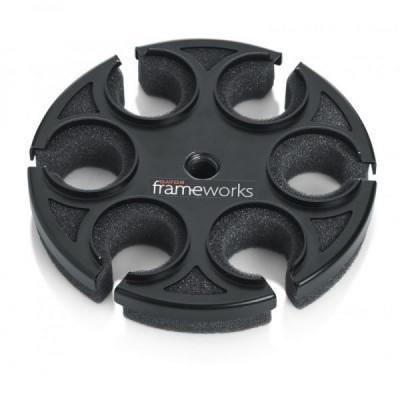 Suport 6 microfoane Gator Frameworks Mic 6 Tray foto