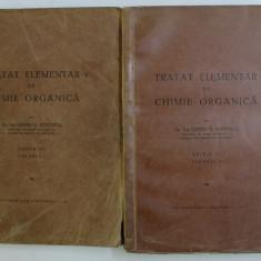 TRATAT ELEMENTAR DE CHIMIE ORGANICA , ED. a - III - a TOM. I-II de COSTIN D. NENITESCU , 1947
