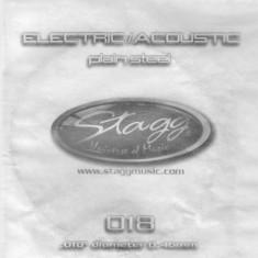 Coarda chitara electrica/acustica Stagg PLS-009