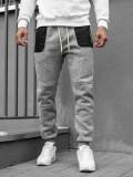 Pantaloni de trening bărbați gri Bolf Q3742