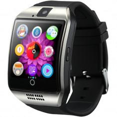 Smartwatch cu telefon iUni Q18, Camera, BT, 1.5 inch, Argintiu
